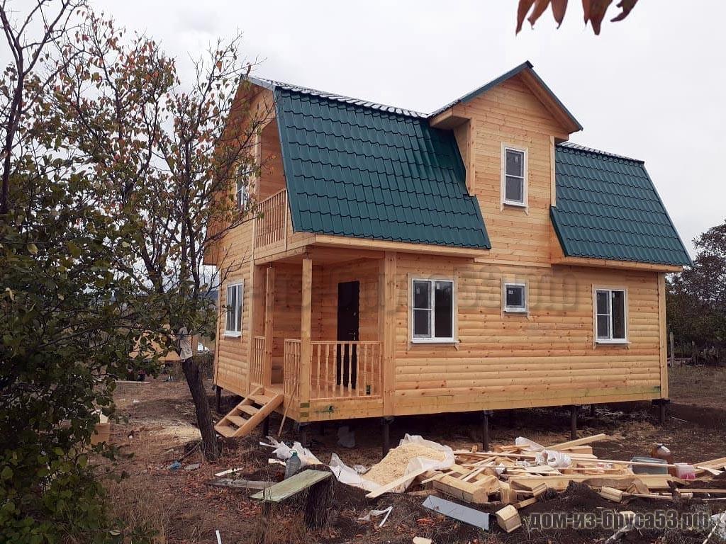 Проект №220. Дом из бруса 6х9