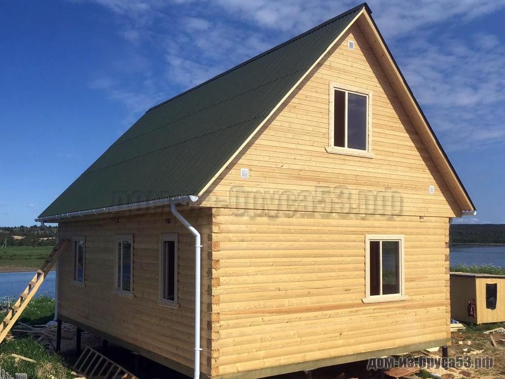 Проект №648 Дом из бруса 6х9