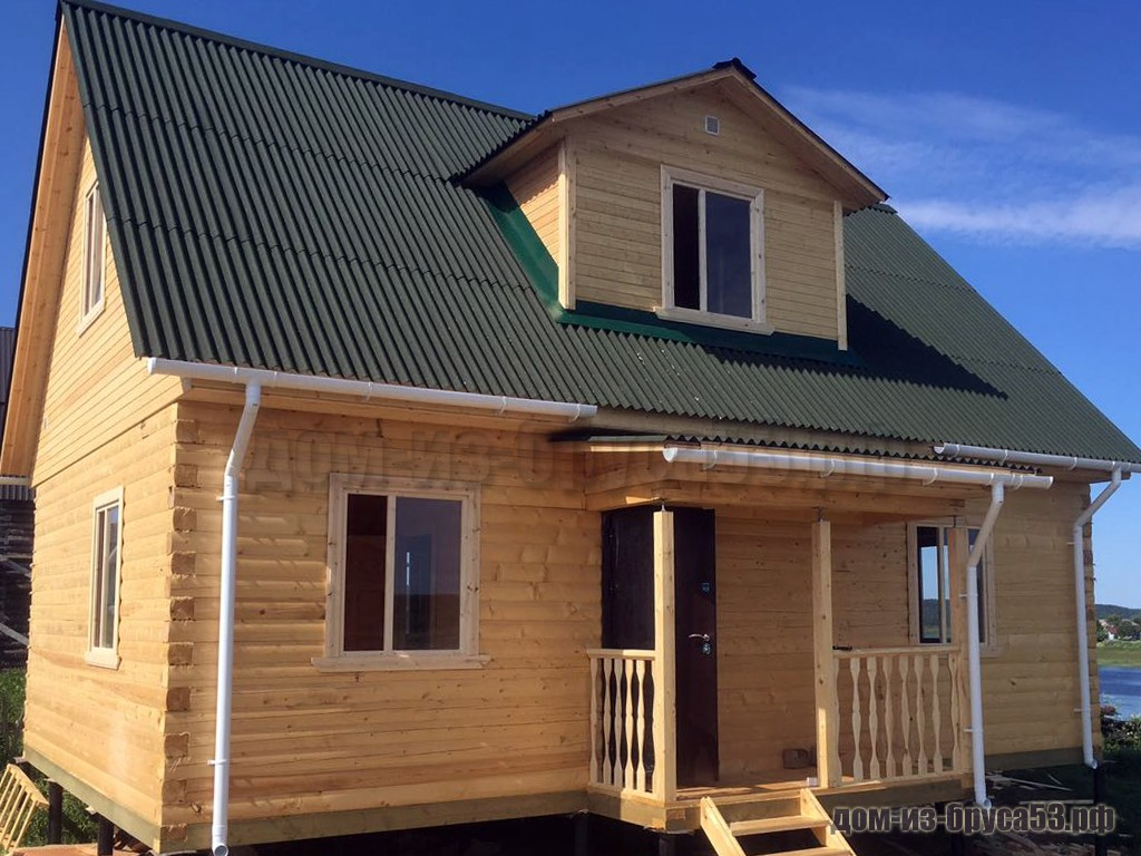 Проект №649 Дом из бруса 6х9