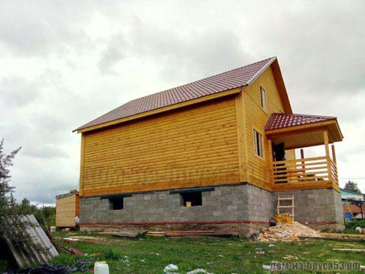Дом из бруса для постоянного проживания
