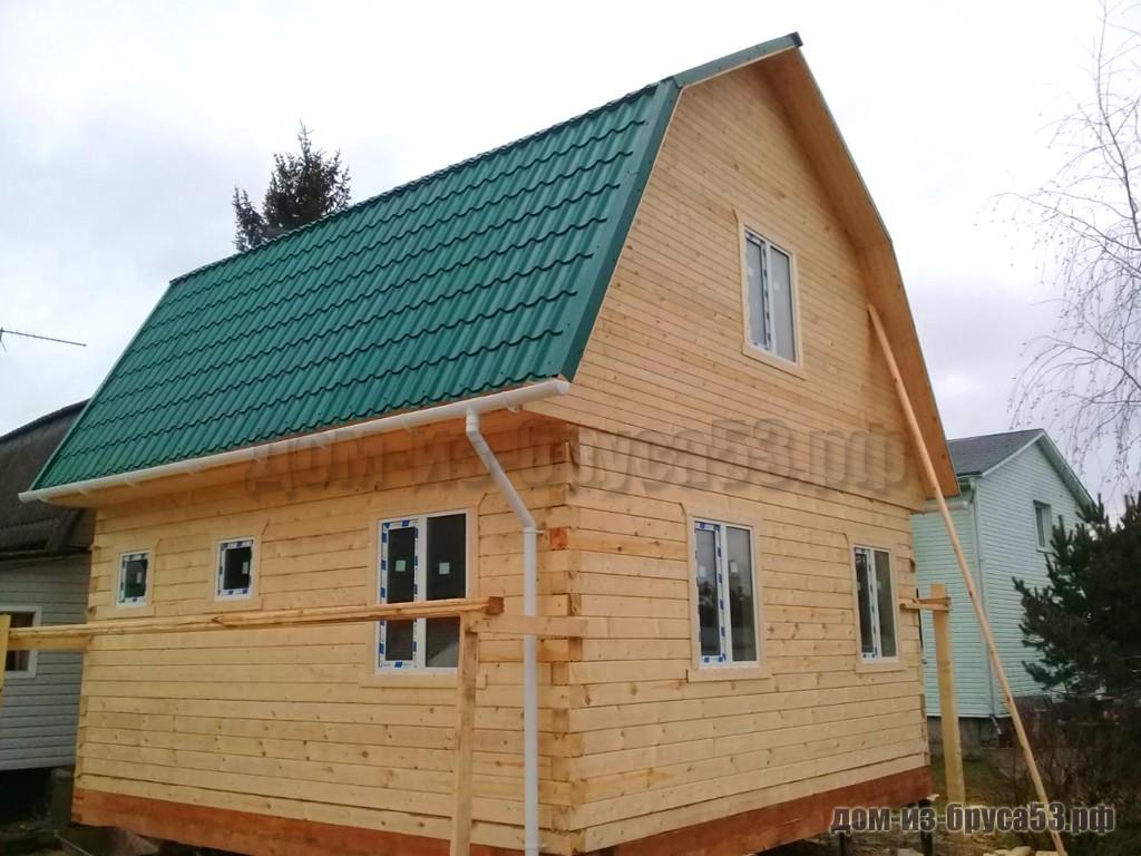 Проект №240. Дом из бруса 6х6