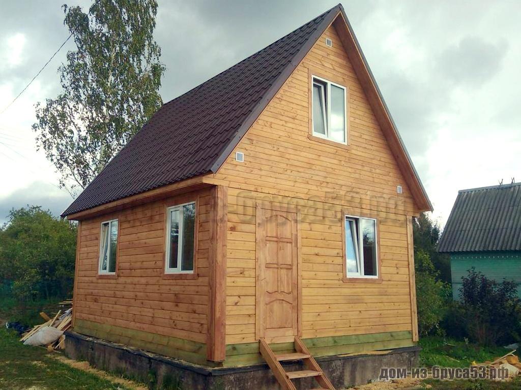 Проект №575. Дом из бруса 6х6