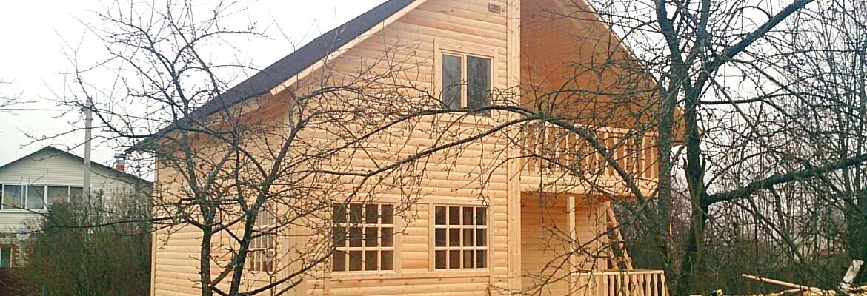 Мой дом из Пестово из бруса и бревна