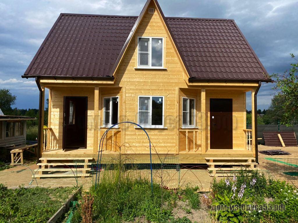 Дом из бруса 7х9 Проект №574.