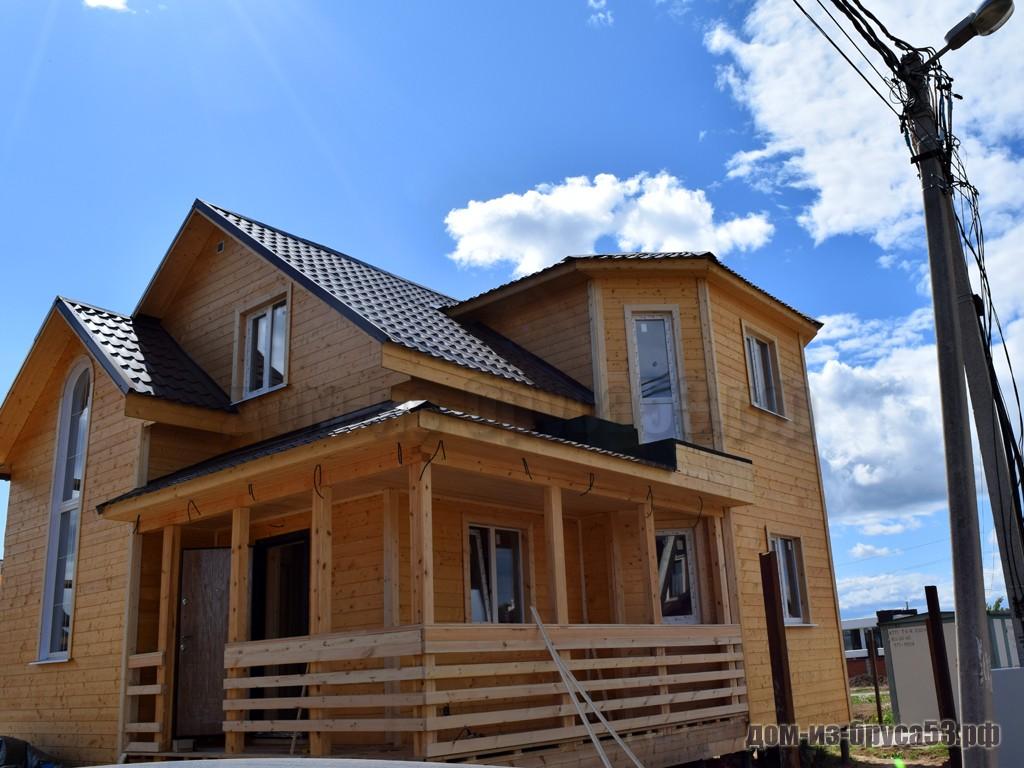 Строительство каркасного дома 8х8