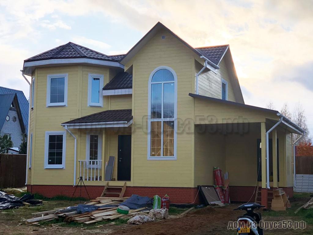 Дом из бруса 7х9 Проект №626.