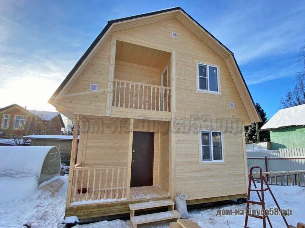 Дом из бруса 6х6 Проект №224.