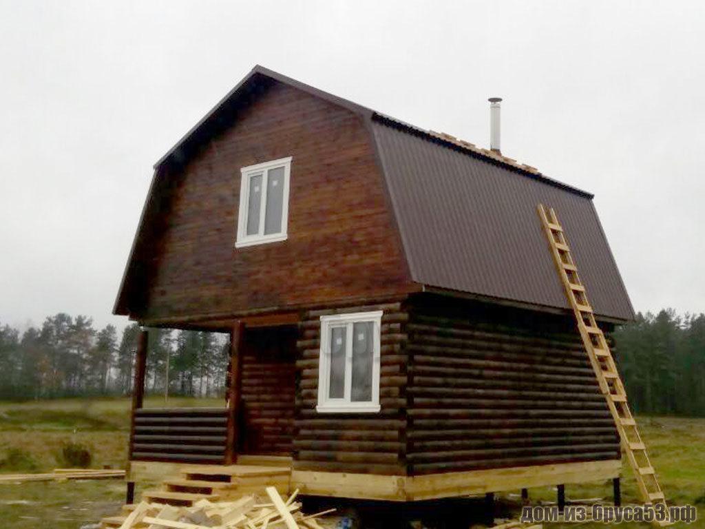 Дом из бруса 6х6 Проект №201.