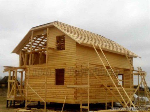 Строительство дома из бруса для постоянноо проживания