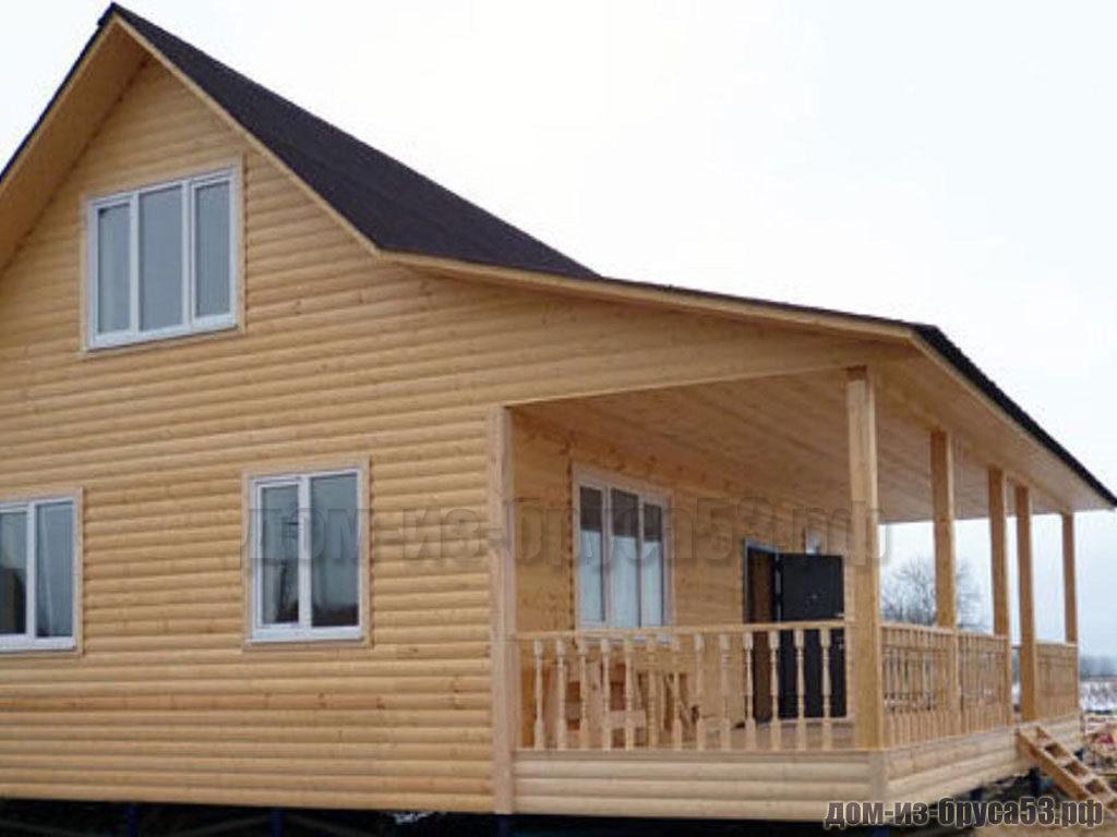 Строительство дома из бруса 6х9