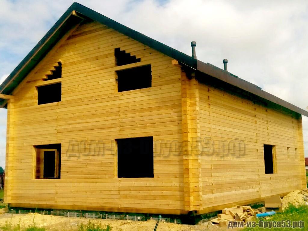 Дом из бруса для большой семьи