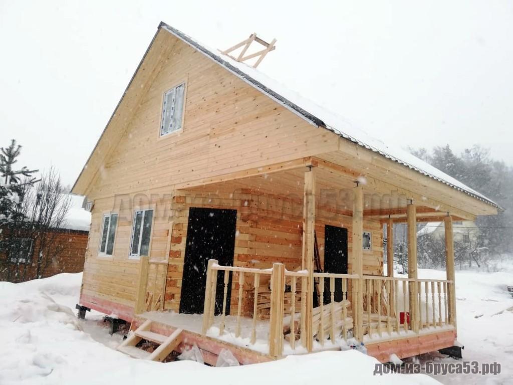 Дом из бруса 6.5х8 Проект №239.