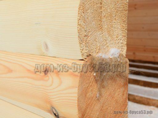 Профилированный шлифованный брус