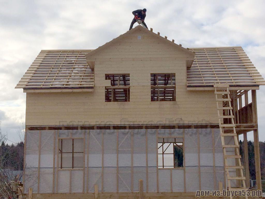 Строительство кукушки каркасного дома