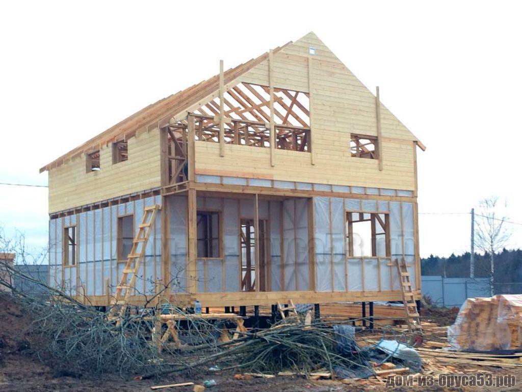 Строительство второго этажа каркасного дома