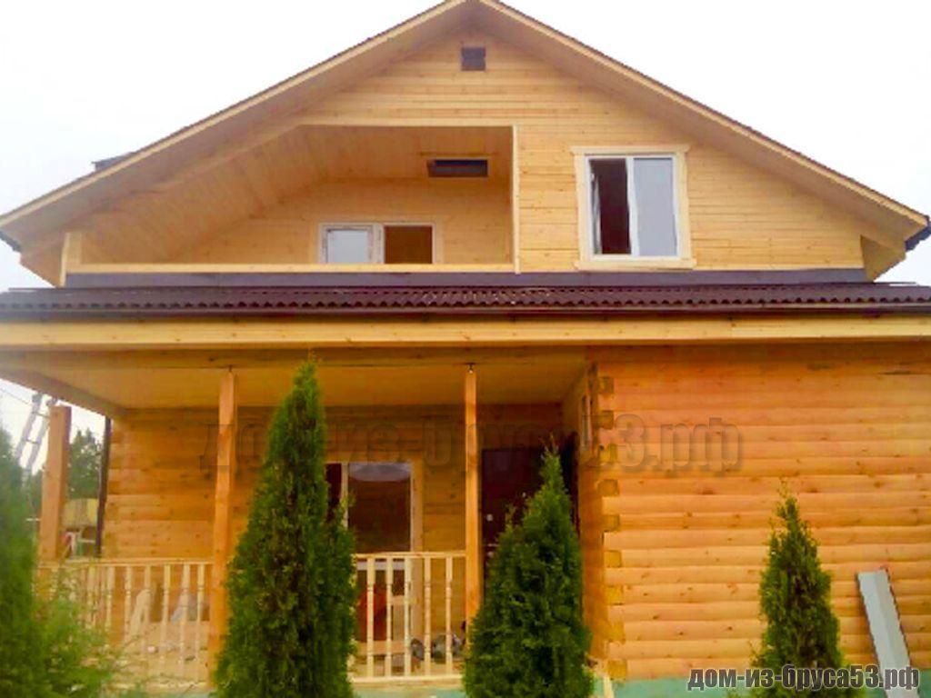Строительство гостевого дома из бруса