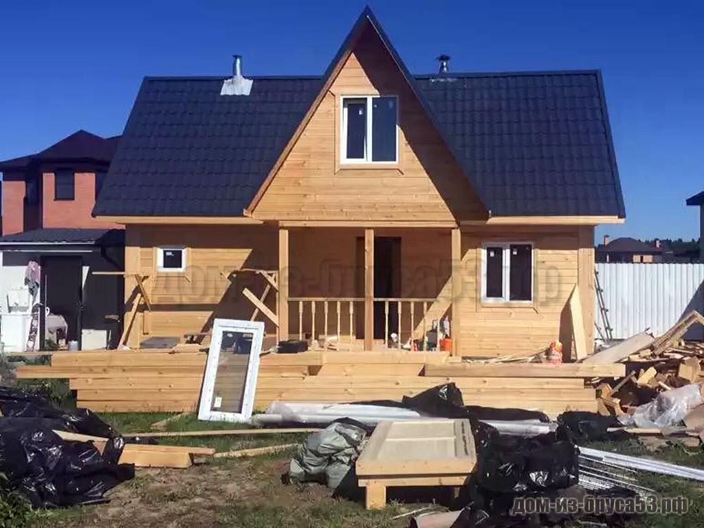 Строительство дома 6х8