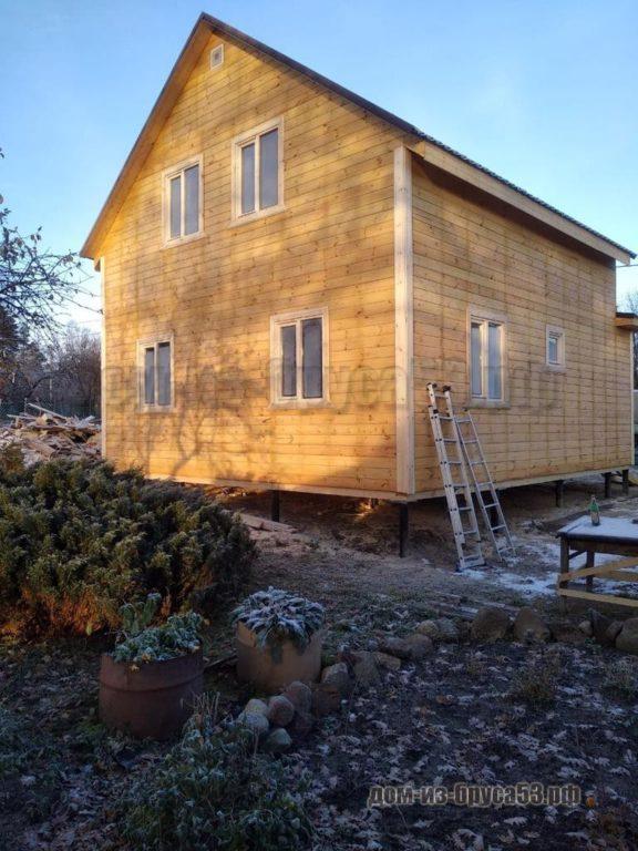 Дом из бруса 9х10 Проект №308.