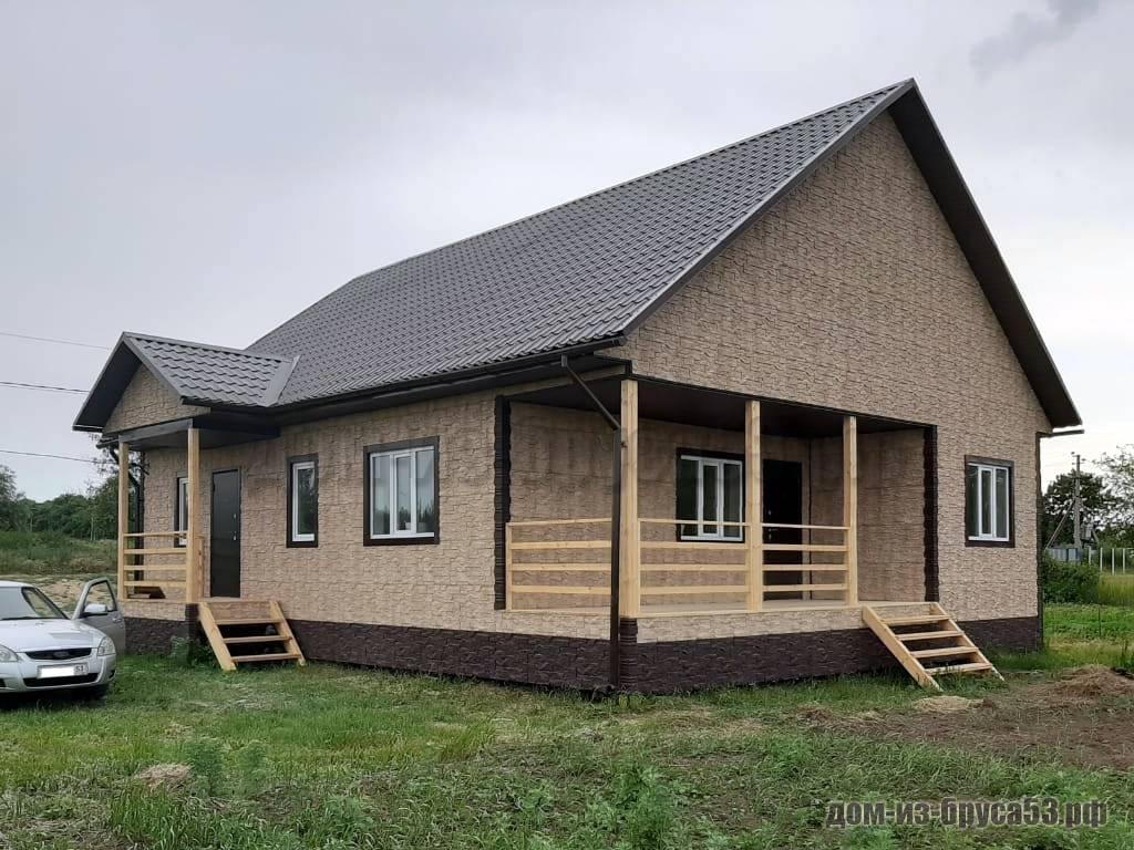 Строительство каркасного дома 10 на 12